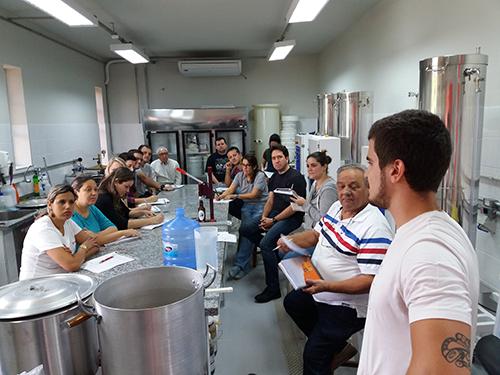 curso de cerveja artesanal Fermentec participantes